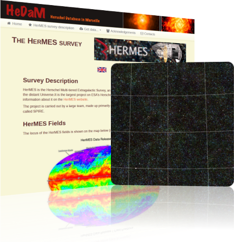 HerMES site screen-shot
